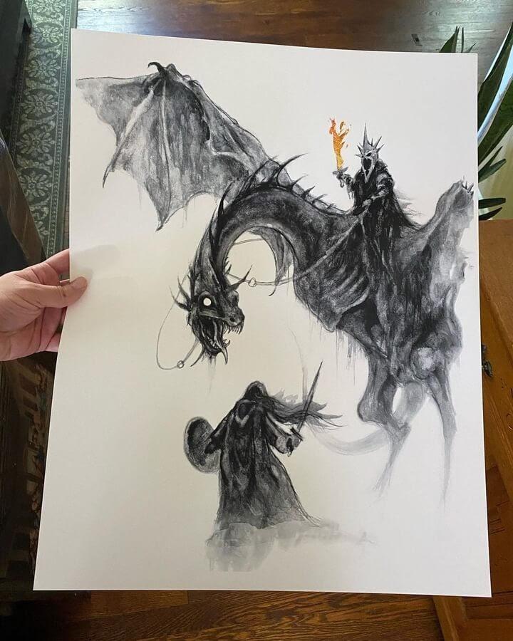 03-LOTR-inspired-dragon-Brian-Serway-www-designstack-co
