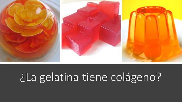 Cómo y por qué la gelatina tiene colágeno, fotos.