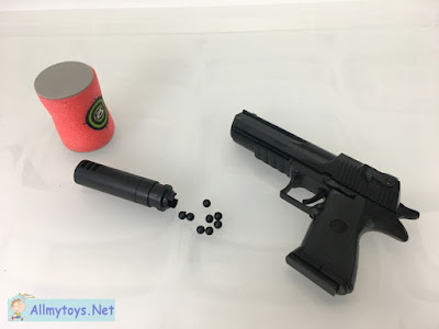 Shooting Block Toy Pistol