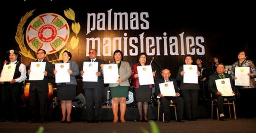PALMAS MAGISTERIALES 2017: Hasta el 12 de mayo se podrá presentar postulaciones - MINEDU - www.minedu.gob.pe