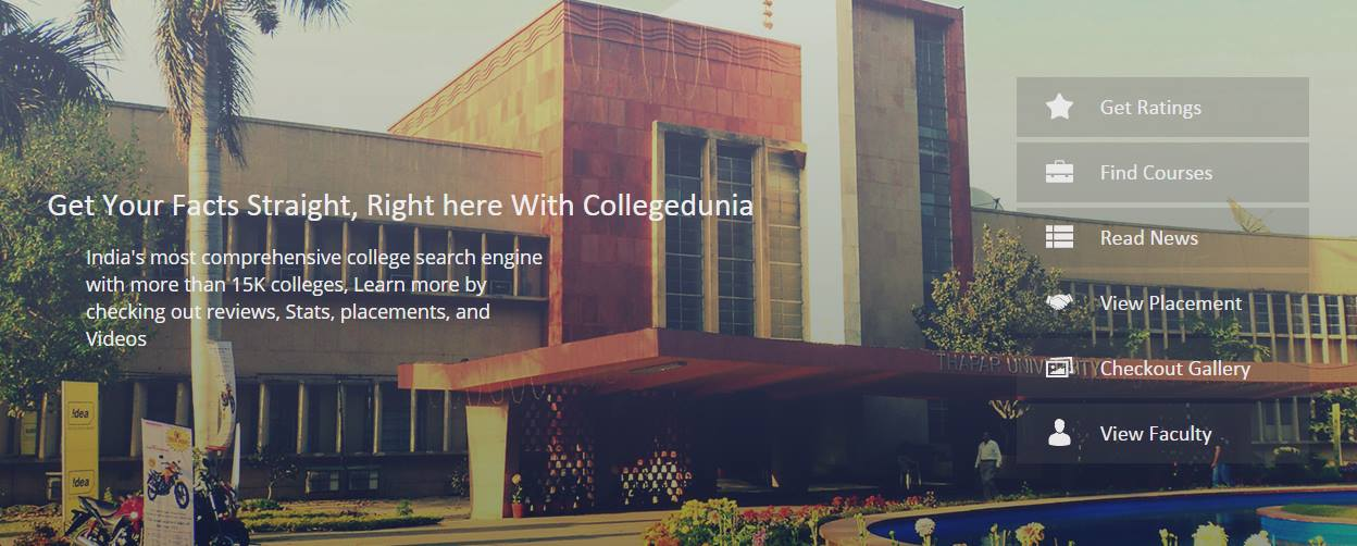 College Dunia - A New Way to Find Colleges in India