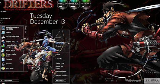 Theme Windows 7 Drifters By Bashkara