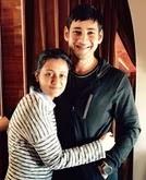 Mahesh Babu with her wife