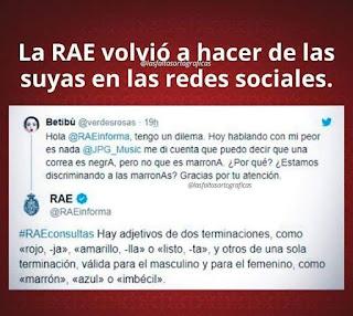 La RAE trolleando usuarios de Twitter