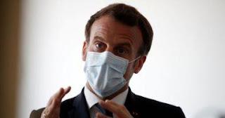 الرئيس الفرنسى يعلن تمديد الإغلاق العام حتى 11 مايو