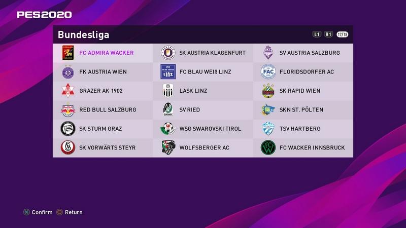 Pes 18 Bundesliga Patch