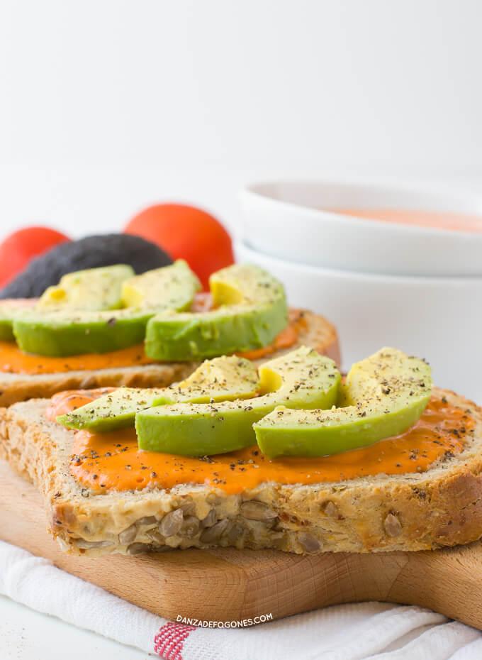 Vegan toast | danceofstoves.com
