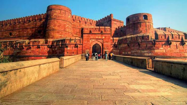 Agra Fort(Red Fort Agra)  Tourism Guide