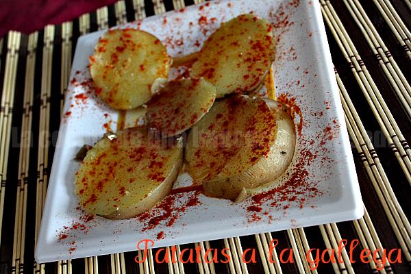 Receta de patatas a la gallega, paso a paso y con fotografías