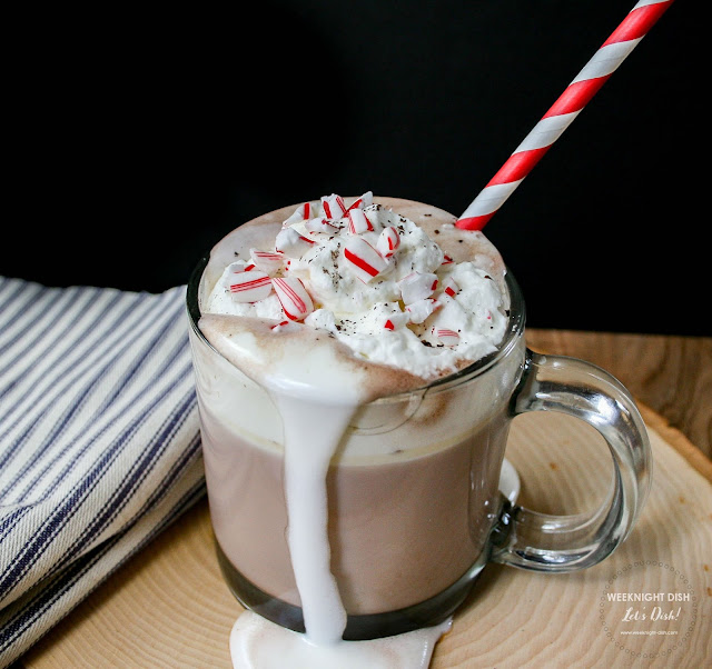 Mug with Peppermint Candies