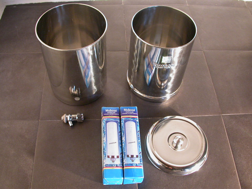 filtro ceramico de agua por gravedad. Black Bedroom Furniture Sets. Home Design Ideas