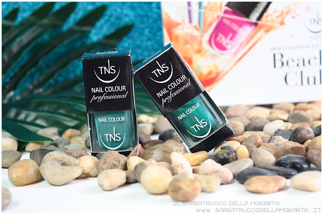 beach club collection TNS cosmetics nails