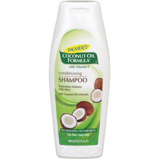 Champú acondicionador al aceite de coco sin sulfatos