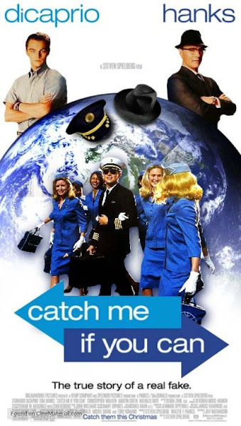 Poster Of Catch Me If You Can 2002 720p Hindi BRRip Dual Audio Full Movie Download
