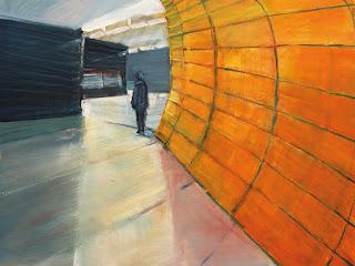Dieter Hess | Marienplatz | 90x70cm | Acryl auf Leinwand | 2011