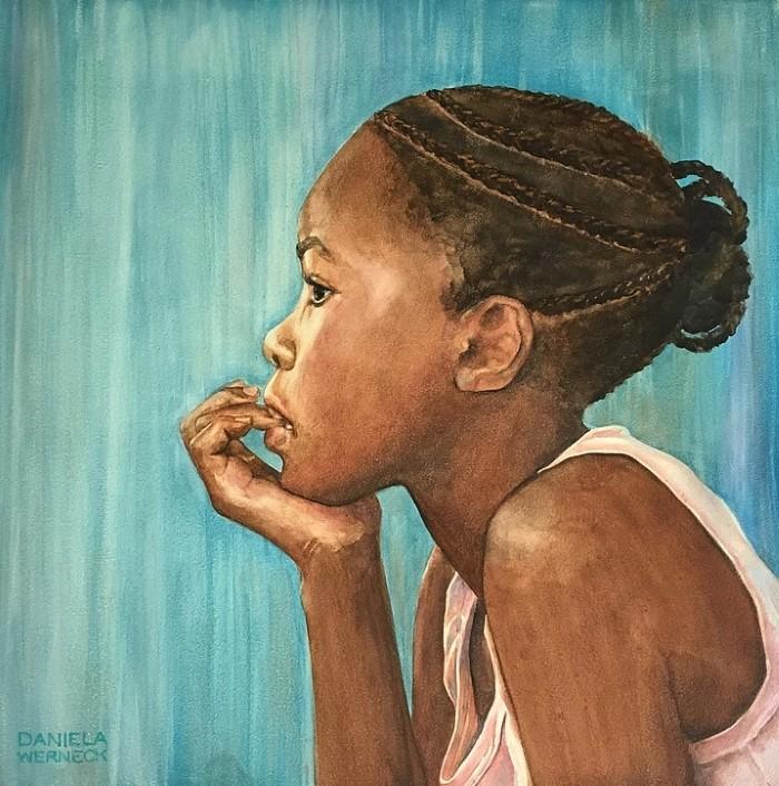 Бразильский художник-реалист. Daniela Werneck