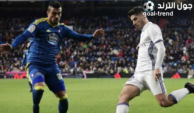 نتيجة مواجهة سيلتا فيغو وريال مدريد في الدوري الاسباني