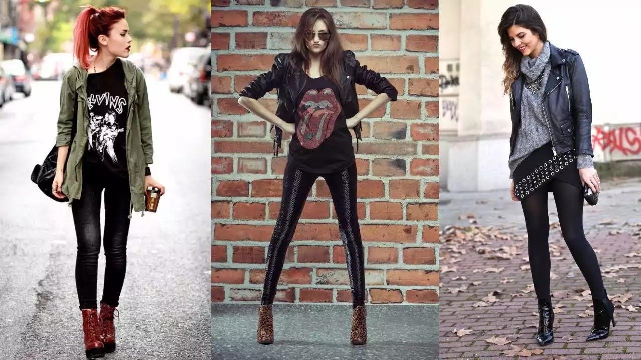 rocker style woman