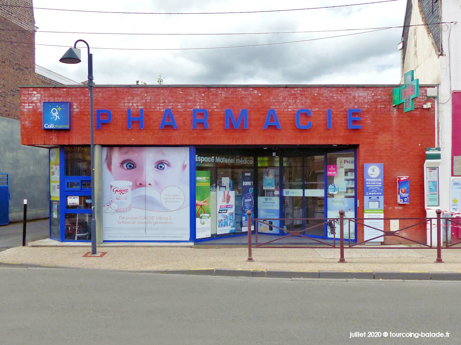 Pharmacie de la Croix-Rouge, Tourcoing 2020