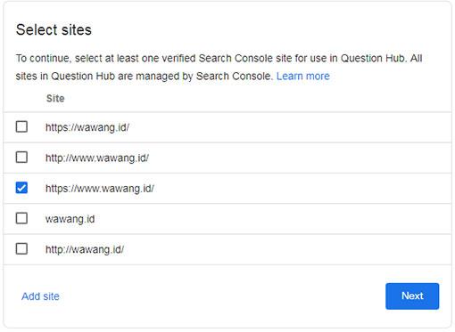 Cara Daftar Google Question Hub