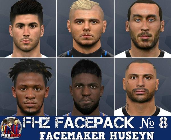 PES 2017 FHZ Facepack