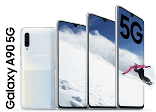 Samsung Galaxy A90 5G Released! Featured Snapdragon 855 and 48MP Camera