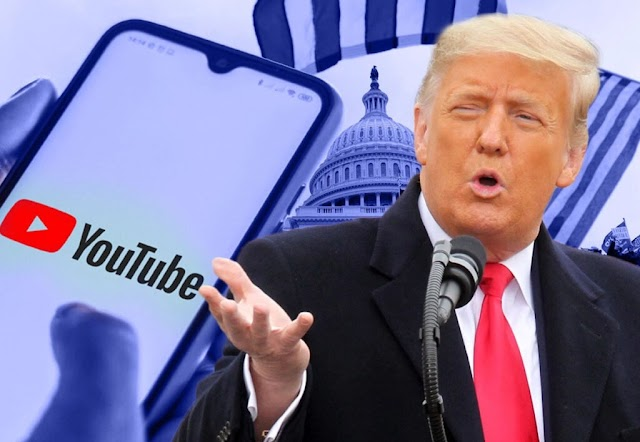 YouTube Suspends Trump Channel and Removes the Inciting Video