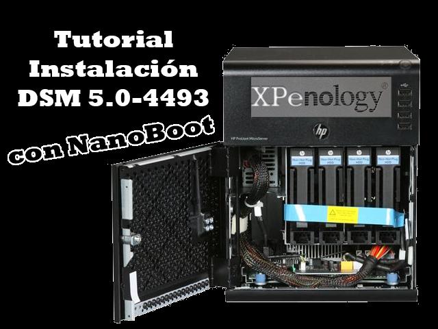 Instalar XPenology con DSM 5 0 4493 (con NanoBoot) ~ Mundo NAS