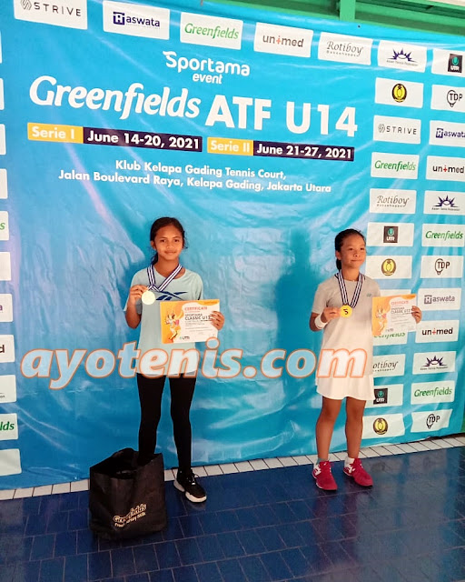 Kalahkan Unggulan Teratas, Gwen Emily Kurniawan Juara Sportama Classic U12 - Serie I