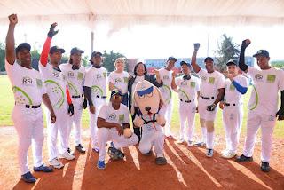 """SeNaSa realiza juego inclusivo """"Beep Baseball"""" junto a Fundación Francina y U League"""