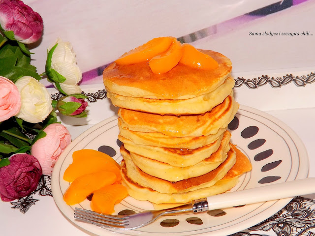 Pancakes ze skórką pomarańczową Helio.