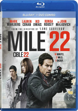 Mile 22 2018 BluRay 300Mb Hindi Dual Audio ORG 480p