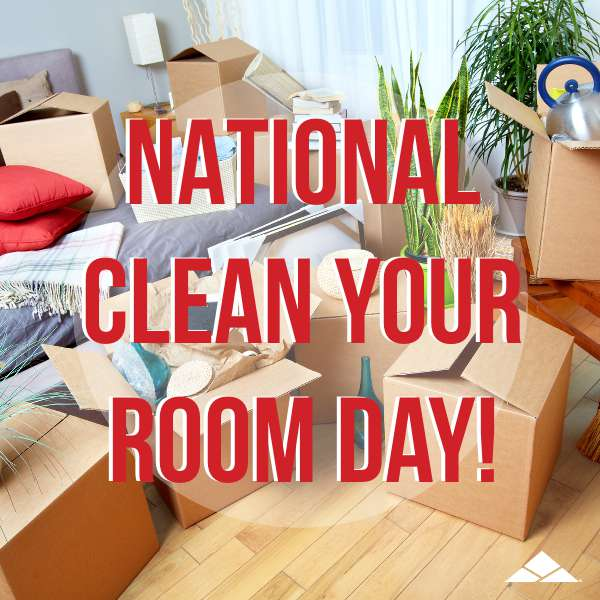 National Clean Your Room Day Wishes for Whatsapp