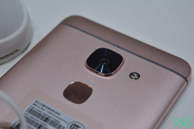 LeEco Le 2 camera and fingerprint scanner
