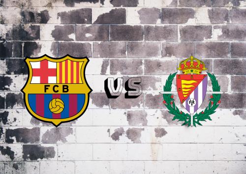 Barcelona vs Real Valladolid  Resumen y Partido Completo