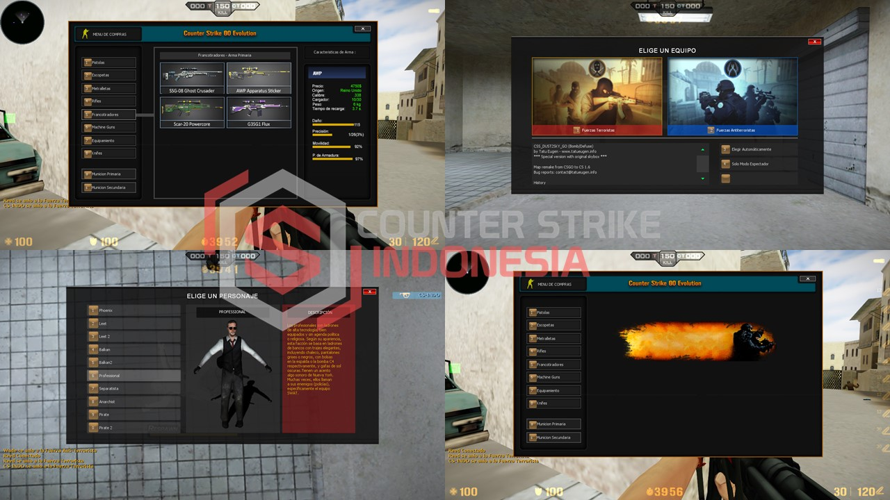 COUNTER STRIKE GLOBAL OFFENSIVE EVOLUTION 2017 + BAHASA INDONESIA