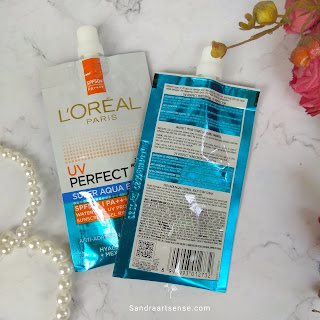 Review L'Oréal UV Perfect Super Aqua Essence