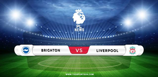 Brighton vs Liverpool Prediction & Match Preview