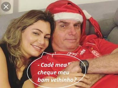 Michele e Bolsonaro