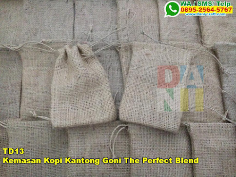Harga Kemasan Kopi Kantong Goni The Perfect Blend