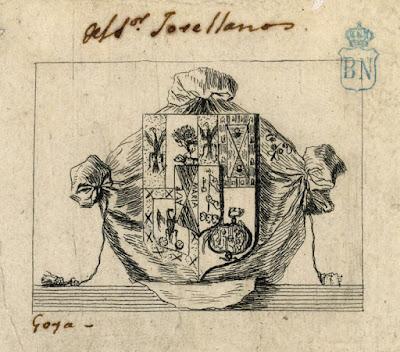 Ex-Libris de Goya para Jovellanos