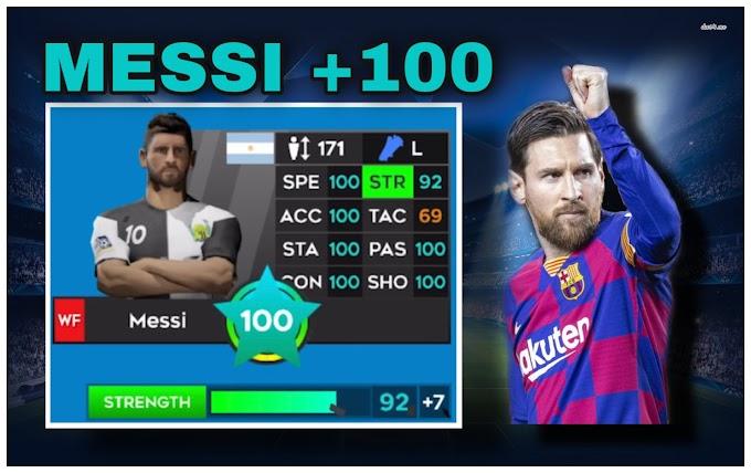 Cách Đập Messi Lên 100 Game Dream League Soccer 2020