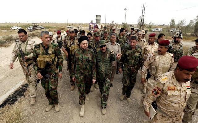ميليشيات الحشد الشعبى تتغلب على تنظيم داعش الإرهابى