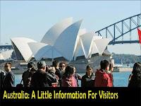 Australia: A Little Information For Visitors