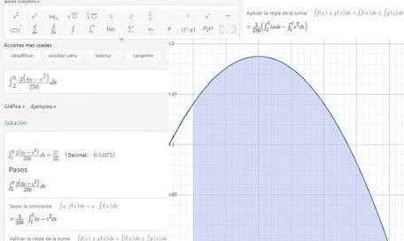 Cálculo de integrales con Symbolab