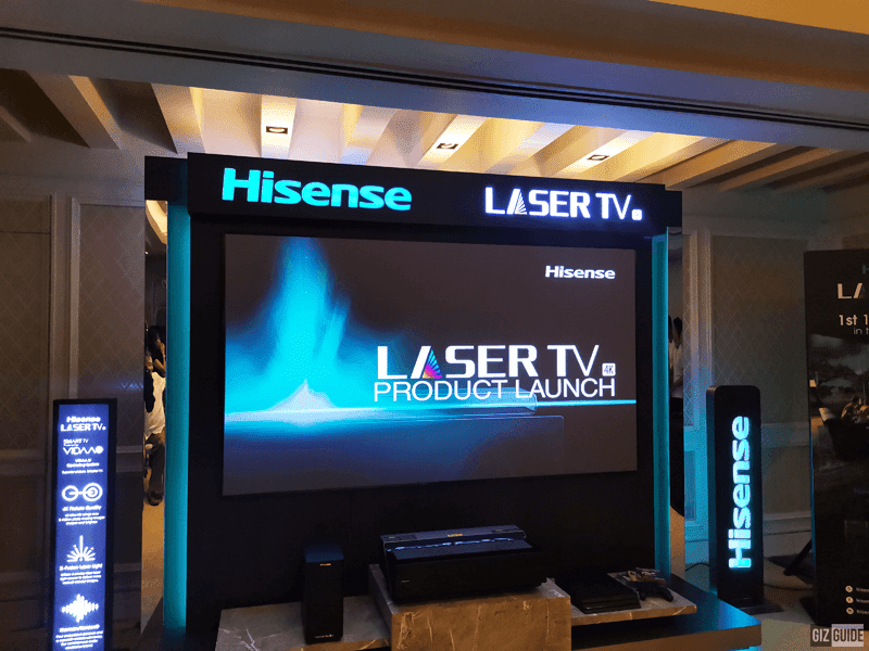 Hisense unveiled the 100L10E, its first ever 100-inch 4K Laser TV