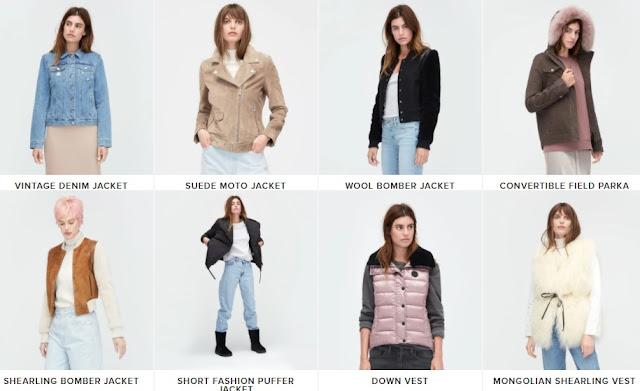 women's UGG jackets