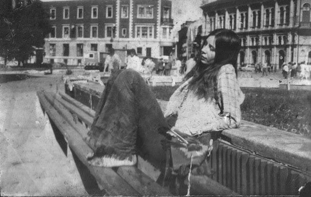 1988 год. Рига. В скверике на Домской площади