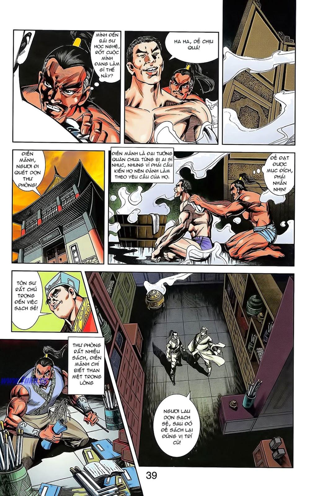 Tần Vương Doanh Chính chapter 15 trang 13