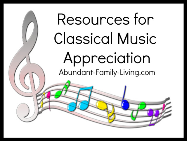 Resources for Classical Music Appreciation